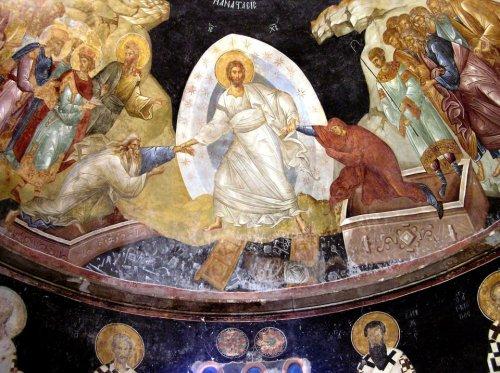 icoana invierea, icoana de la Chora din Constantinopol