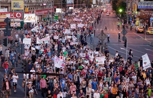proteste-magheru Rosia Montana, Bucuresti