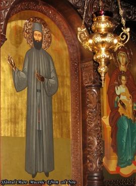 Sfantul Efrem cel Nou minunat