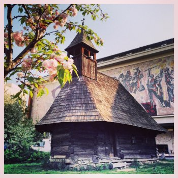 Muzeul Taranului Roman primavara