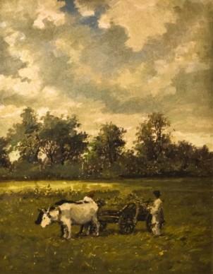 pictura ludovic-bassarab-taran-cu-caruta