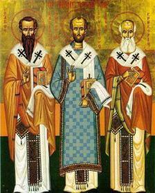 icoana Sfintii Trei Ierarhi