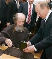 Putin Soljenitin