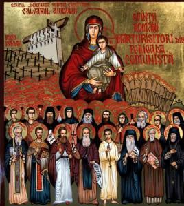 icoana Sfintii Martiri de la Aiud