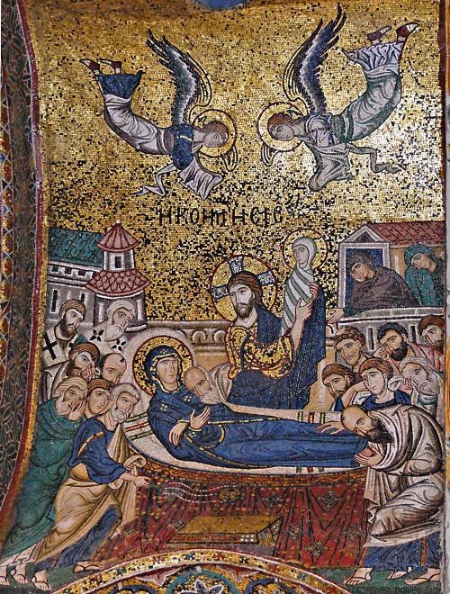 Adormirea Maicii Domnului Martorana Palermo-old-rc-churches-chiesa-di-santa-maria-dellammiraglio-palermo-it-03-assumption-12th-c