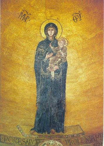 """În catedrala ,,Santa Maria Assunta"""" de pe mica insulă Torcello, clădire ridicată in anul 639 d. H., se află un mozaic bizantin uluitor datând din sec. XII-XIII d. H"""