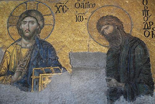 icoana iisus si sf ioan botezatorul biserica sf sofia
