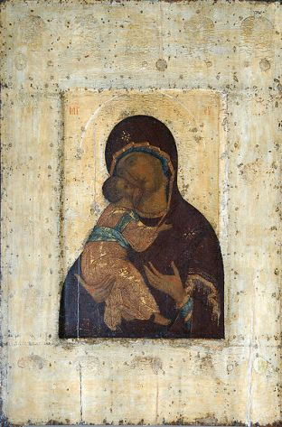 icoana Maica Domnului - Rubliov 395px-Rublev3