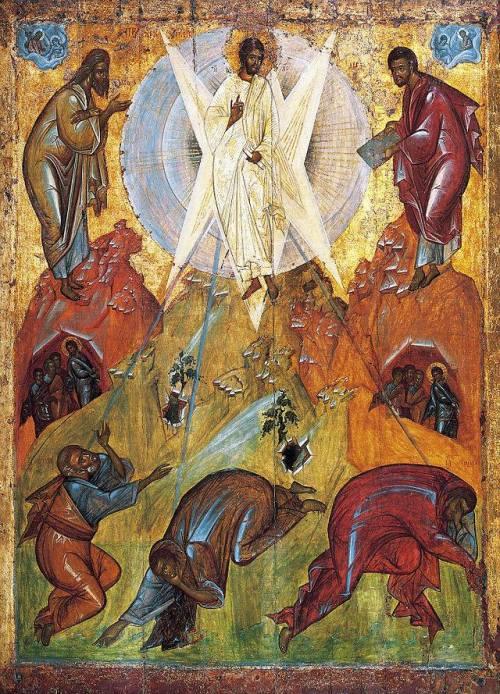 icoana Schimbarea la fata icoană ortodoxă de Teofan Grecul