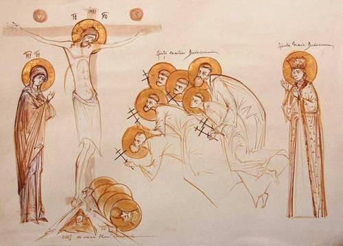 icoana Sfintii Brancoveni constantinbrancoveanu.ro galeriile  cununie