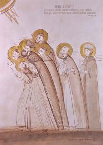 icoana Sfintii Brancoveni cununie - Elena Murariu