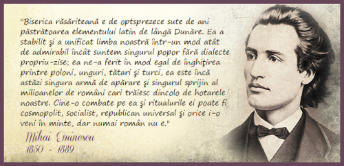 Eminescu citat Biserica Ortodoxa