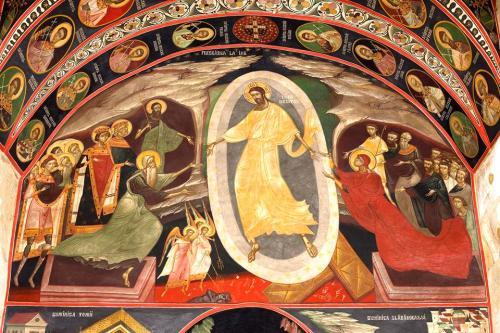 Invierea - Biserica din Borzesti