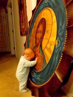 copil icoana Iisus