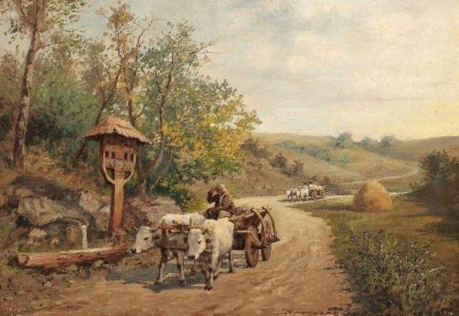 troita pictura De la camp - Ludovic Basarab